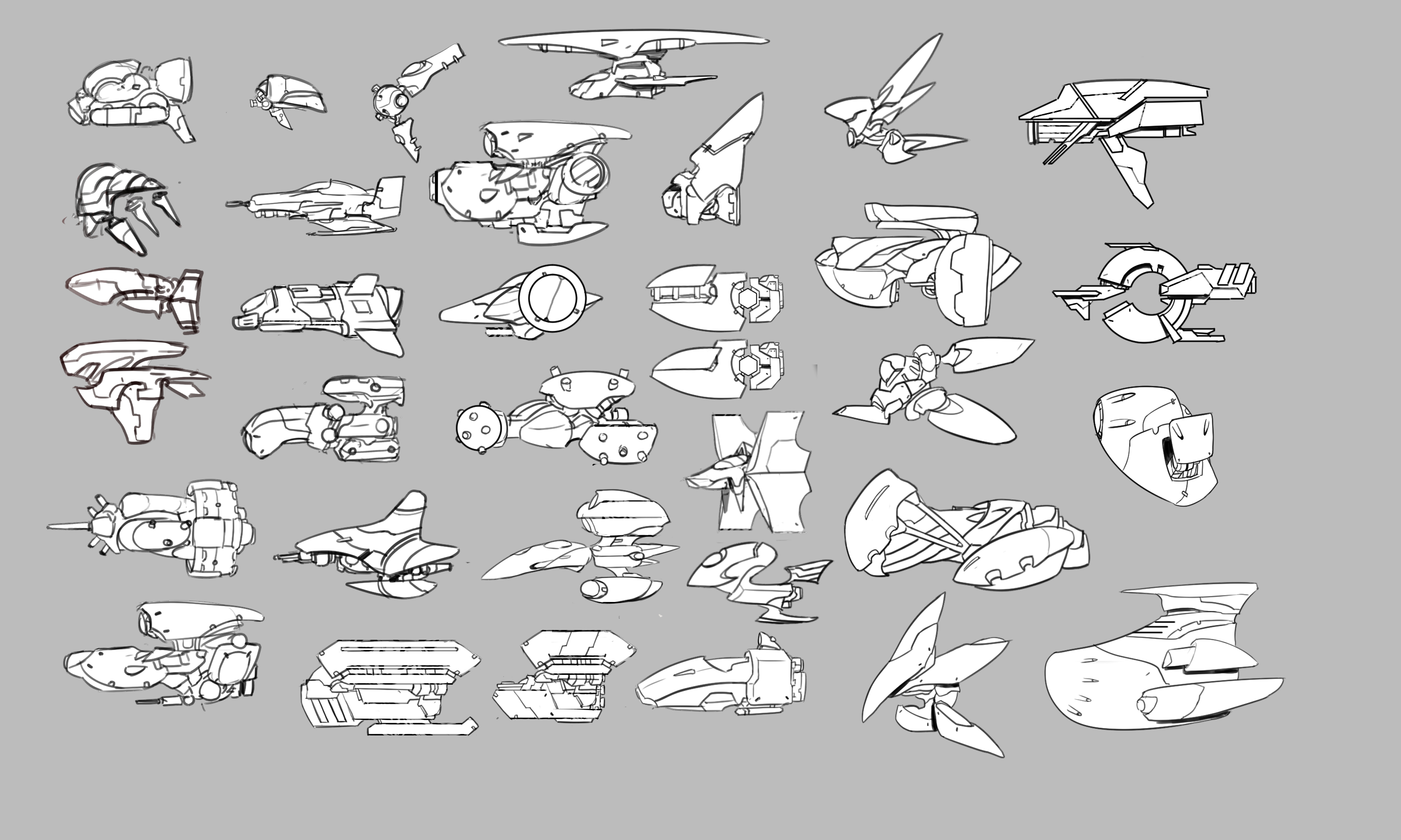 Potential Ship Models.